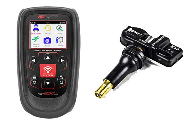 Components of the Direct Kia TPMS System